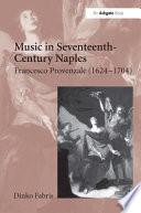 Music in Seventeenth century Naples