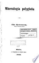 Mineralogia polyglotta. - Halle, Anton 149