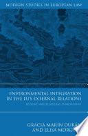 Environmental Integration in the EU's External Relations