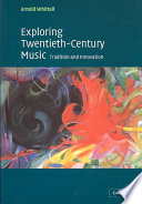 Review Exploring Twentieth-Century Music