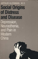 Social Origins of Distress and Disease