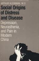 Social Origins of Distress and Disease