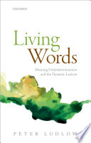 Living Words book