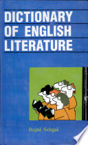 Dictionary Of English Literat