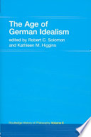The Age of German Idealism