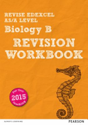 Revise Edexcel AS/A Level 2015 Biology Revision Workbook