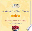 A Year of Little Things