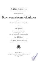 Salmonsens store illustrerede konversationsleksikon