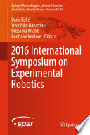 2016 International Symposium on Experimental Robotics