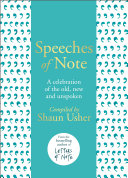 Speeches Of Note : ...