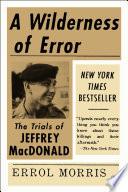 A Wilderness of Error Book PDF