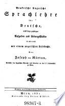 Praktische ungrische Sprachlehre für Deutsche, nebst dazu gehörigen Aufgaben (etc.) 6. Ausg