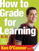 How to Grade for Learning, K-12
