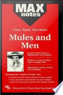 Mules And Men Maxnotes Literature Guides