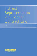 Indirect Representation in European Contract Law