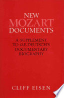 New Mozart Documents