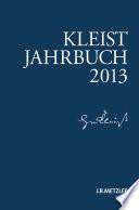 Kleist-Jahrbuch 2013