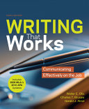 Writing that Works with 2009 MLA and 2010 APA Updates