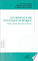 Les réseaux de politique publique