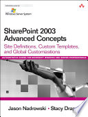 SharePoint 2003 Advanced Concepts