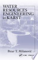 Water Resources Engineering in Karst
