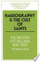 Hagiography and the Cult of Saints Book PDF
