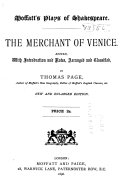 Moffatt s Edition of Shakespeare s Merchant of Venice