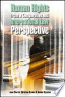 Human Rights from a Comparative and International Law Perspective