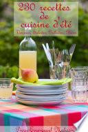 illustration 230 recettes de cuisine d'été, Verrines, Salades, Grillades, Glaces