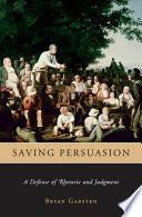 Saving Persuasion