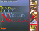 Lessons for the Writer s Notebook