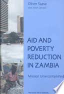 Ebook Aid and Poverty Reduction in Zambia Epub Oliver S. Saasa,Jerker Carlsson Apps Read Mobile