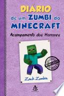 Di Rio De Um Zumbi Do Minecraft Acampamento Dos Horrores