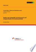 Einfluss der Fondsgröße auf Performance und Anlageverhalten von Investmentfonds