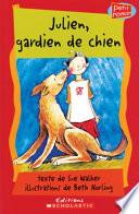 illustration du livre Julien, gardien de chien
