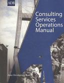 Consulting Services Operations Manual