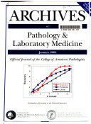 Archives of Pathology   Laboratory Medicine