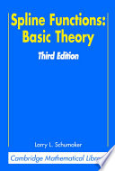 Spline Functions  Basic Theory