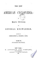 The New American Cyclopaedia: A Popular Dictionary Of General Knowledge : ...