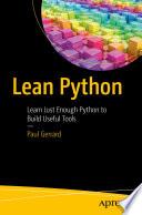 Lean Python