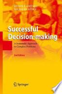 Successful Decision making