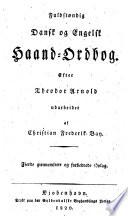 Fuldst  ndig dansk og engelsk haand ordbog