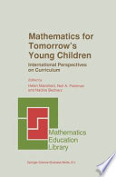 Mathematics for Tomorrow   s Young Children