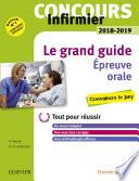 Concours Infirmier 2018 2019   preuve orale Le grand guide