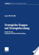 Strategische Gruppen und Strategieforschung