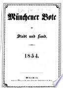 Münchener Bote für Stadt und Land