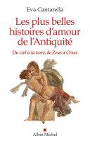Les Plus Belles Histoires d'amour de l'antiquité