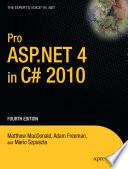 Pro ASP NET 4 in C  2010