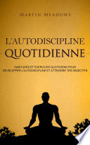 illustration L'autodiscipline quotidienne