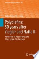Polyolefins  50 years after Ziegler and Natta II